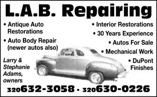 Antique Auto Restorations