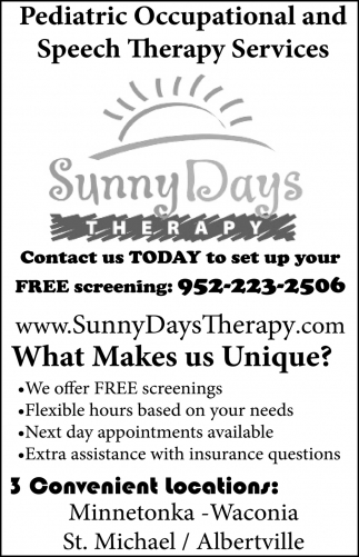 Contact Us Today to Set Up Your Free Screening