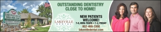 Outstading Dentistry Close to Home!