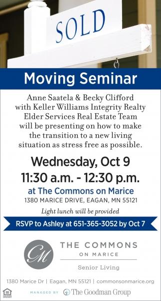 Moving Seminar