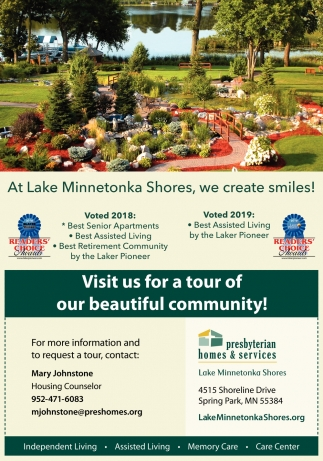At Lake Minnetonka Shores, We Create Smiles!