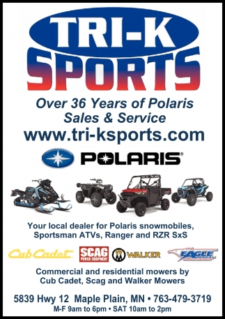 Over 36 Years of Polaris Sales & Service