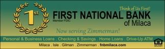 Now Serving Zimmerman!