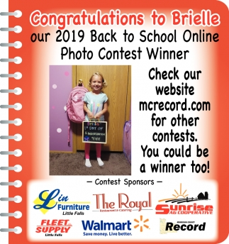 Congratulations to Brielle