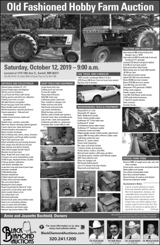 Old Fashioned Hobby Farm Auction