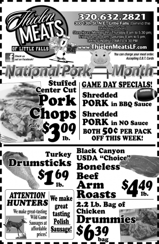 National Pork Month