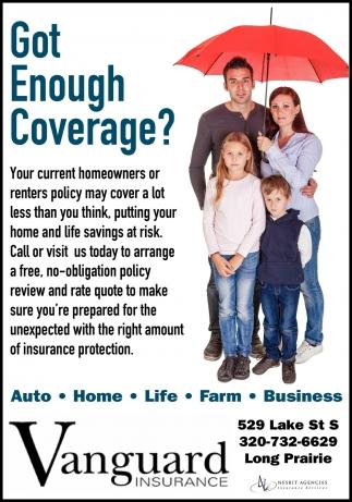 Got Enough Coverage?