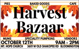 Harvest Bazaar