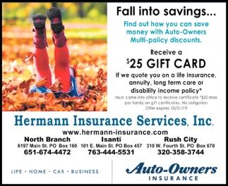 Fall Into Savings...
