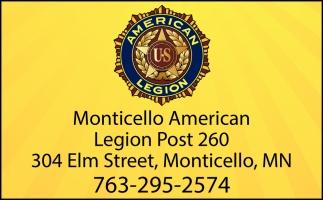 Monticello American Legion Post 260