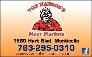 Von Hansons Meat Markets