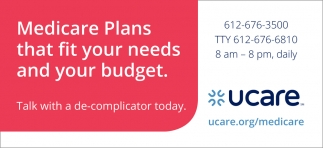 Medicare Plans that Fit Your Needs & Your Budget