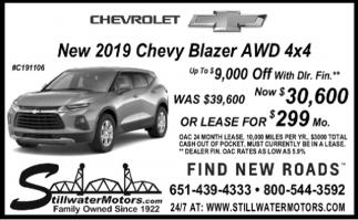 New 2019 Chevy Colorado LT 4x4