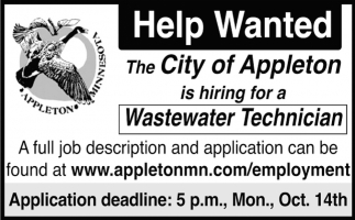 Wastewater Technician