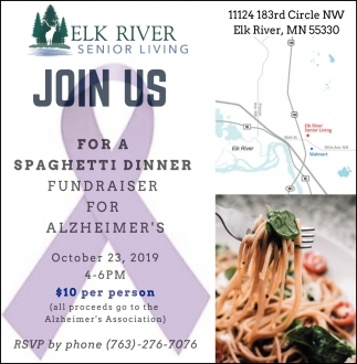 Join Us for a Spaghetti Dinner