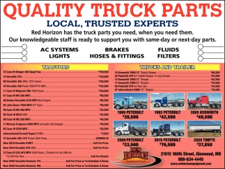 Quality Truck Parts