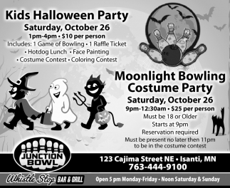 Moonlight Bowling Costume Party