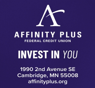 Affinity Plus Credit Union >> Invest In You Affinity Plus Federal Credit Union Cambridge Mn
