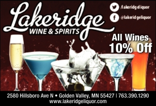 All Wines 10% OFF