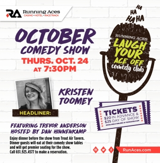 October Comedy Show