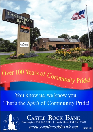 Over 100 Years of Community Pride!