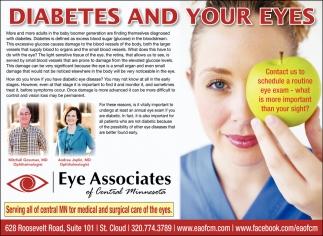 Diabetes & Your Eyes