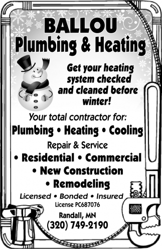 Get Your Heating System Checked & Cleaned Before Winter!