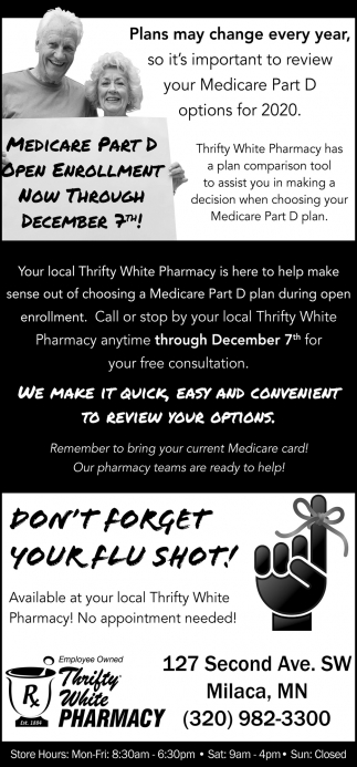 Don't Forget Your Flu Shot!