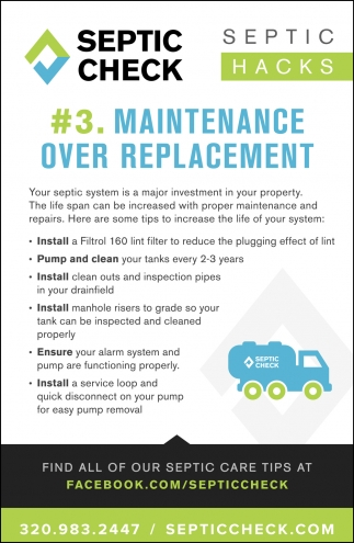 #3. Maintenance Over Replacement