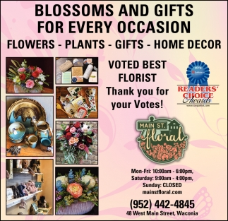 Blossoms & Gifts for Every Occasion