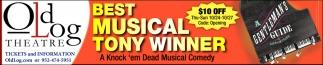 Best Musical Tony Winner