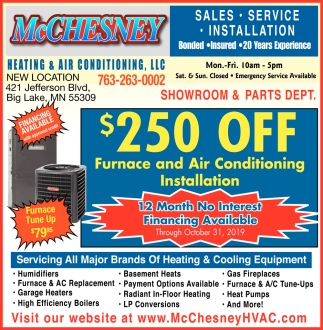 Servicing All Major Brands of Heating & Cooling Equipment