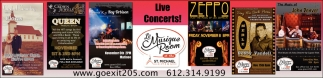 Live Concerts!