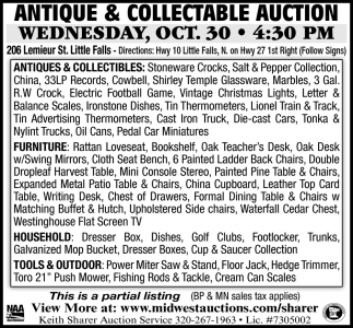 Antique & Collectable Auction