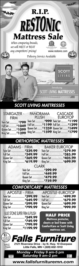Restonic Mattress Sale