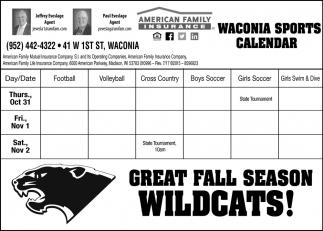 Waconia Sports Calendar