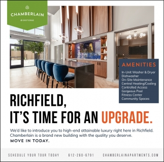 Richfield, It's Time for an Upgrade