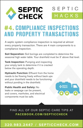 #4. Compliance Inspections & Property Transactions