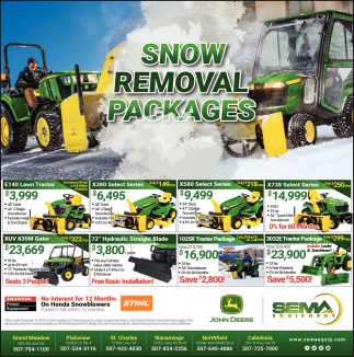 Snow Removal Packages