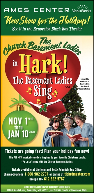 The Church Basement Ladies in Hark!