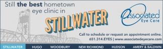 Still the Best Hometown Eye Clinic in Stillwater