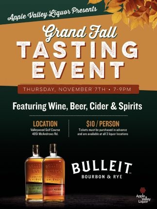 Grand Fall Tasting Event