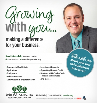 Growing with You... Making a Difference for Your Business
