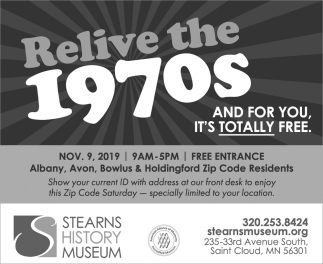 Relive the 1970s and for You, It's Totally Free