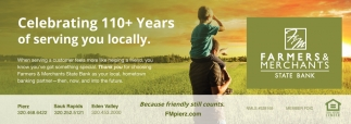 Celebrating 110+ Years of Serving You Locally
