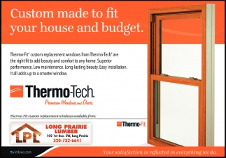 Custom Made to Fit Your House & Budget