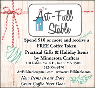 Practical Gifts & Holiday Items by Minnesota Crafters