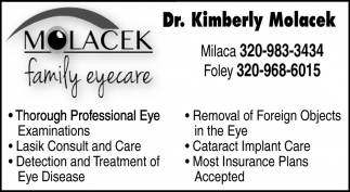 Dr. Kimberly Molacek