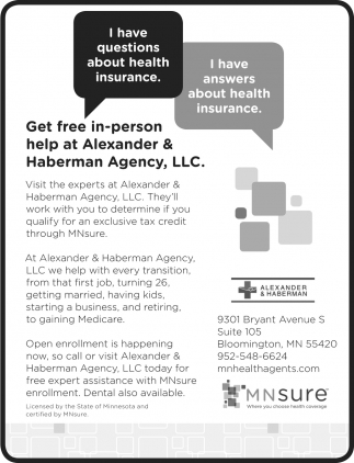 I Have Answers about Health Insurance