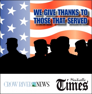 We give Thanks to those that Served